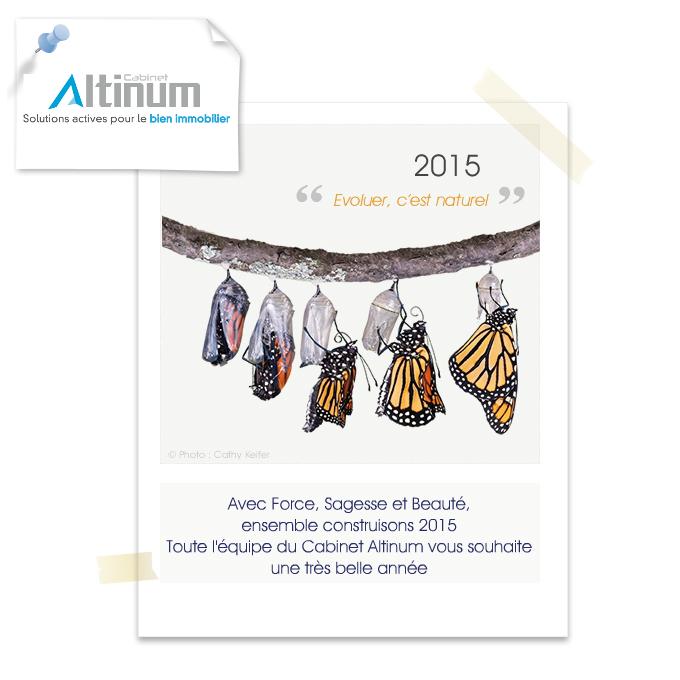Altinum voeux 2015